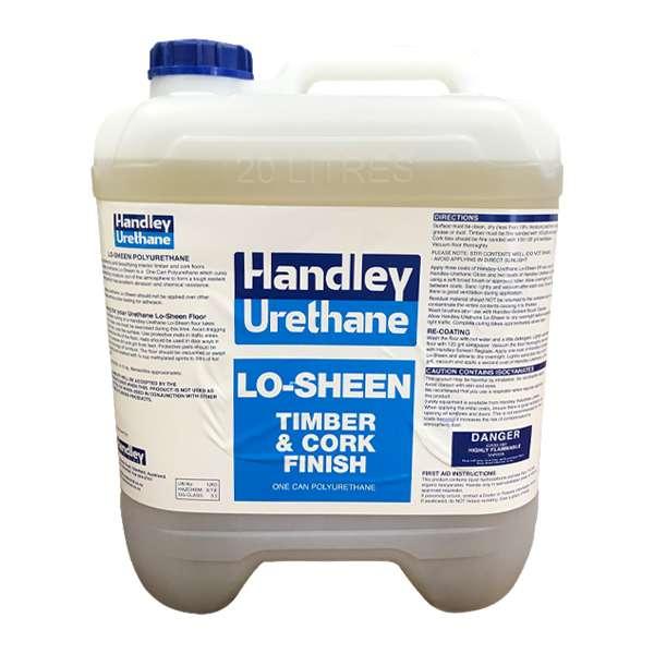 handley urethane lo-sheen timber