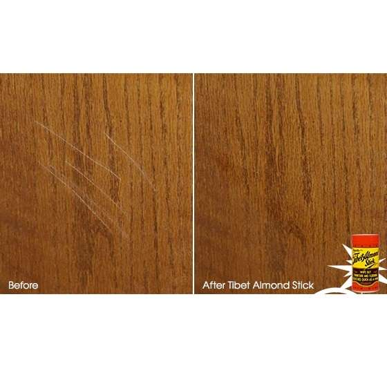 Tiber Almond Stick before and after