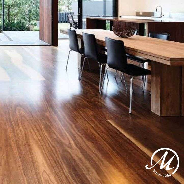 BROVSPOT138 Big River Engineered Overlay Spotted Gum 138mm