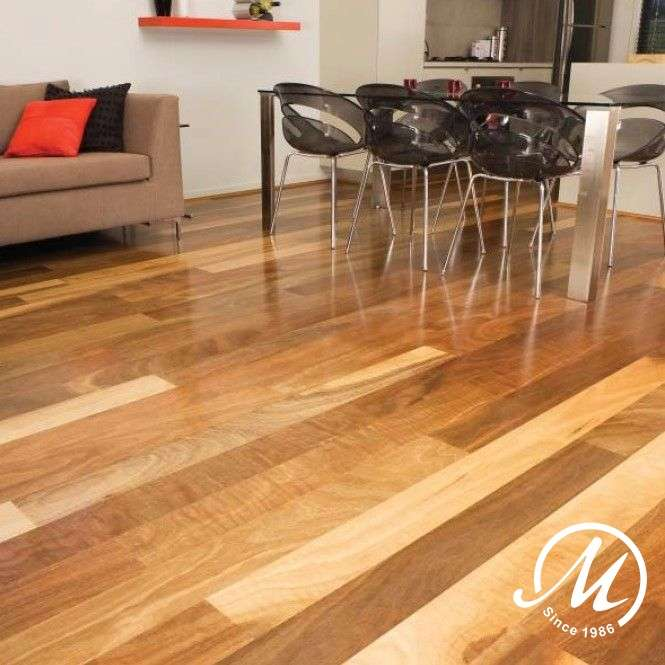 BROVSPOT189 Big River Engineered Overlay Spotted Gum 189mm