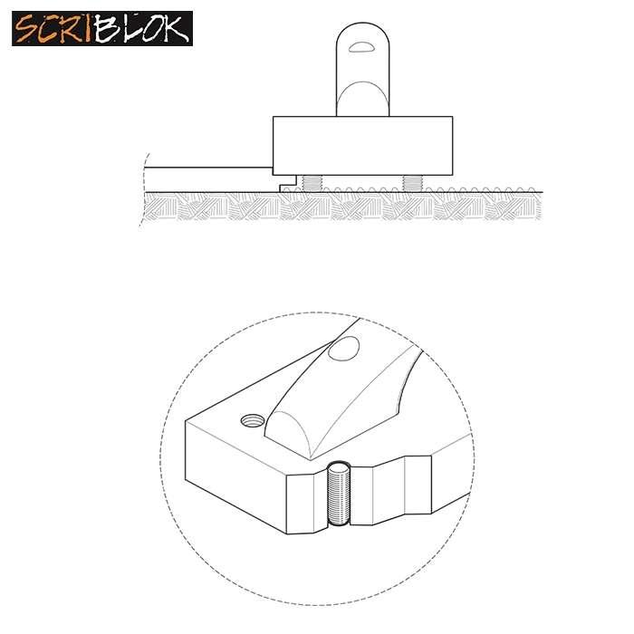 Scriblok Knocking/ Tapping Block