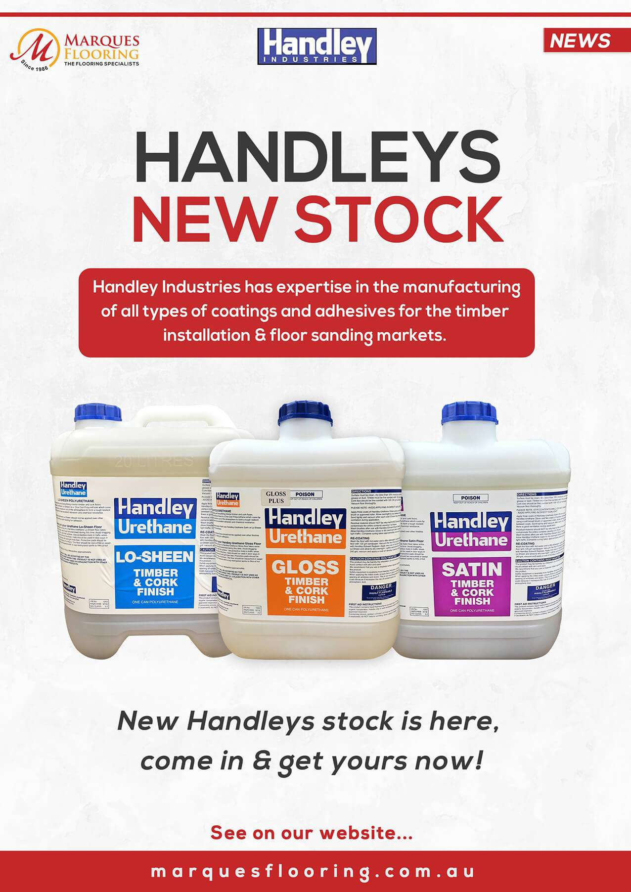 handleys new stock january A4