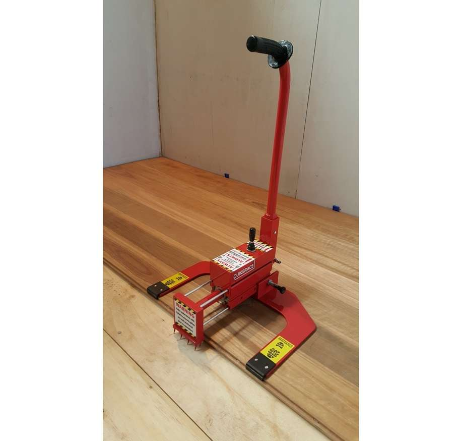QuikBrace Hardwood Flooring Installer & Floor Clamp