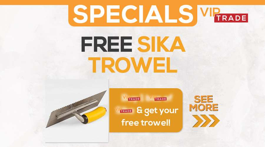 sika trowel VIP special website featured image