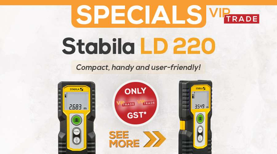 stabila ld220 VIP special website featured image