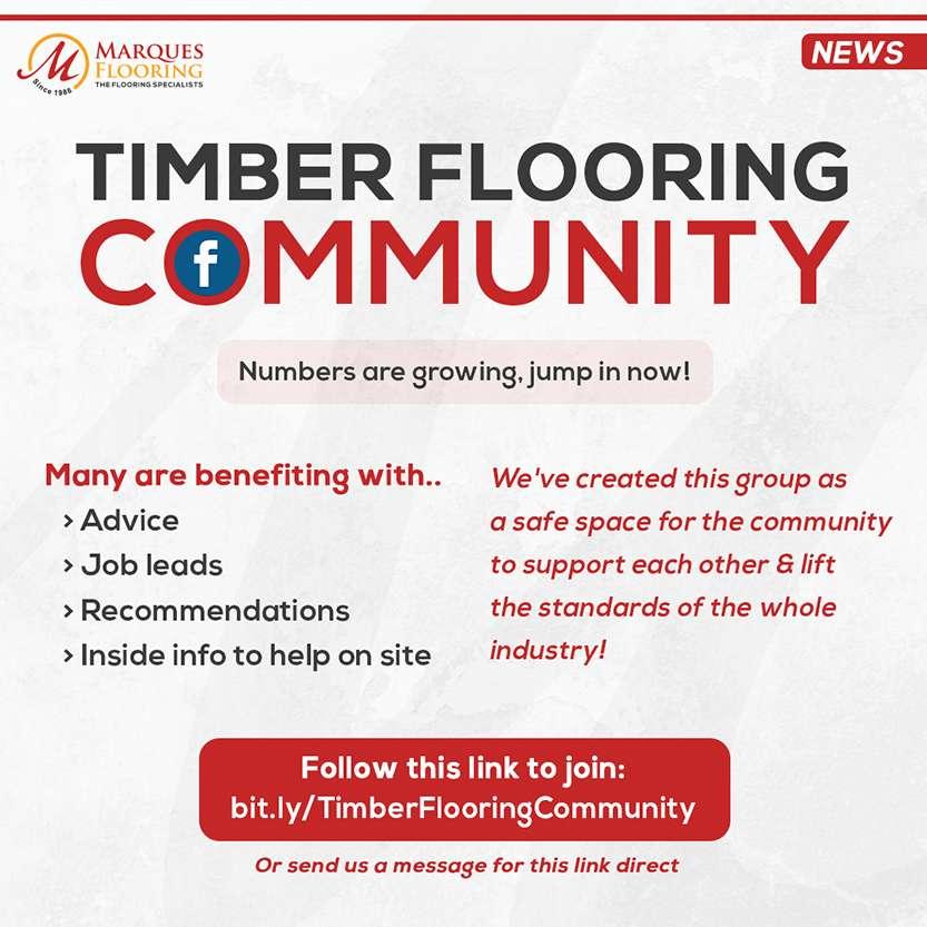 timber flooring community april