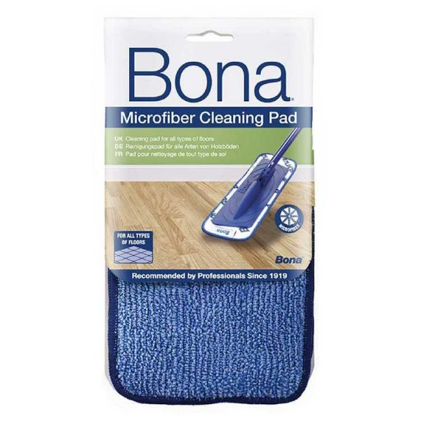 Bona Microfibre Cleaning Pad White