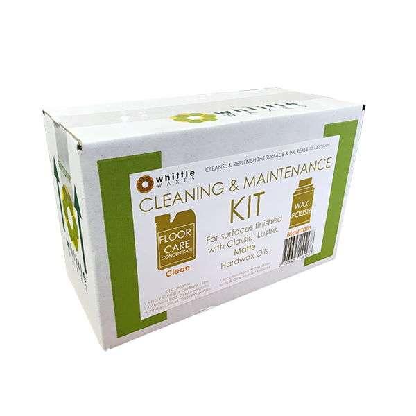 whittle waxes cleaning & maintenance kit - matte - website
