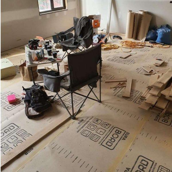 SupaBord Ramboard floor protection